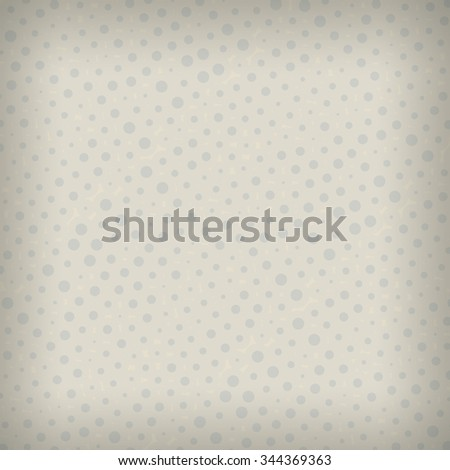 Polka dot vintage background illustration - stock photo