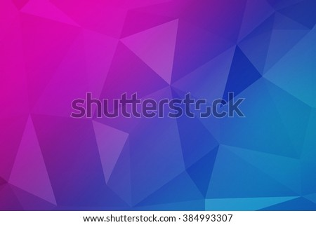 Polygonal Background Image - stock photo