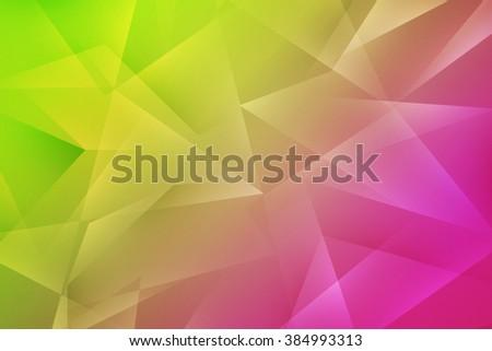 Polygonal Texture Backdrop - stock photo