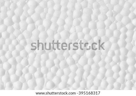 Polystyrene ,Styrofoam foam texture - stock photo