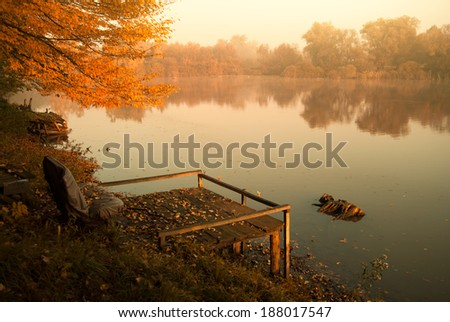 Pond - stock photo
