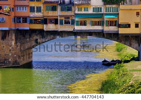 Ponte Vecchio - stock photo