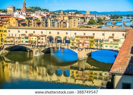 Ponte Vecchio - Florence, Italy - stock photo