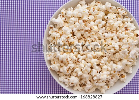 Pop Corn - stock photo