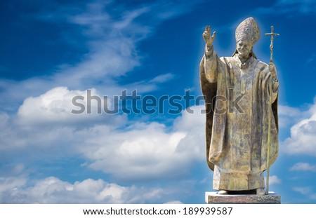 Pope John Paul II  - stock photo