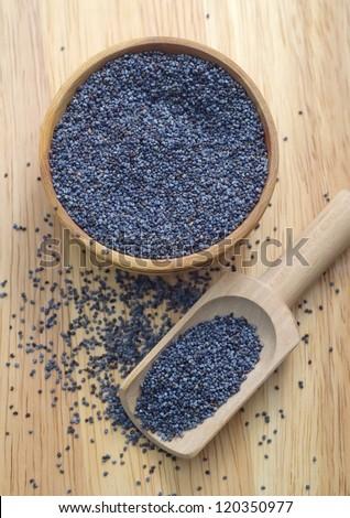 poppy seed - stock photo