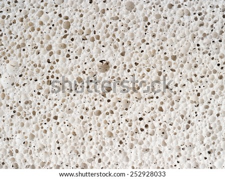Pore pumice background - stock photo