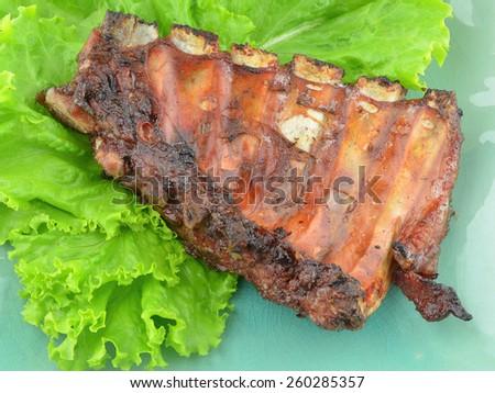 Pork Ribs - stock photo