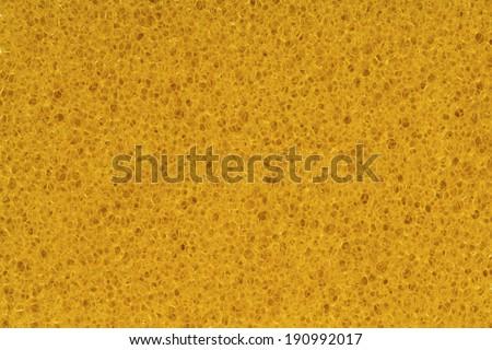 porous foam texture background, bubble macro of fungous spong bast fiber or spongeous bast wisp  - stock photo
