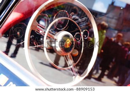 Porsche 356 - 1957 Classic Car - stock photo