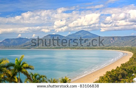 Port Douglas North Queensland Australia on a beautiful sunny day - stock photo