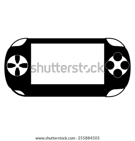 Portable game pad  - stock photo