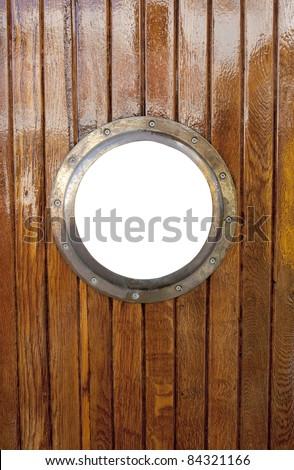 Porthole background  - stock photo
