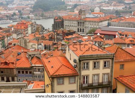 Porto, Portugal   Ancient architecture  - stock photo