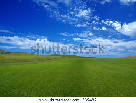 Porto Santo Golf - stock photo