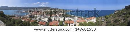 Portoferraio - stock photo