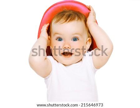 Portrait funny baby  - stock photo