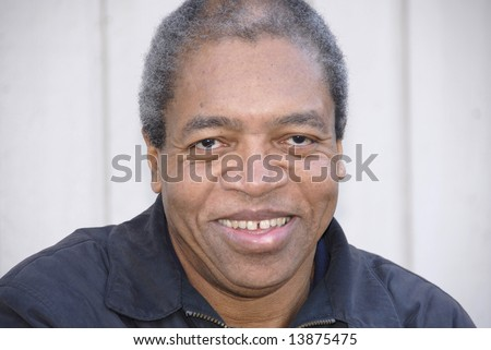 Portrait of a african american male relaxing at home. - stock photo