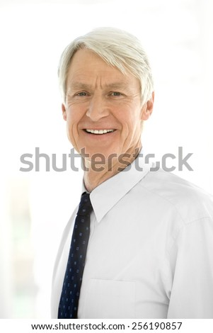 Portrait of a ceo - stock photo