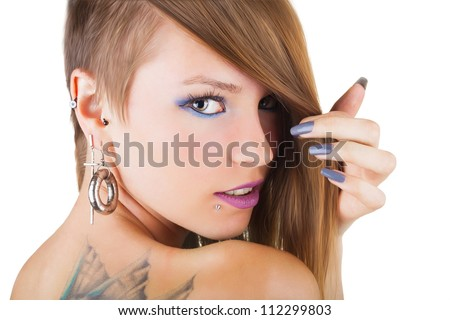 Ear piercing stock photos images amp pictures shutterstock