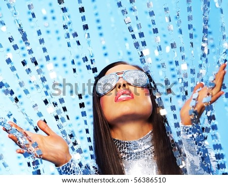 Portrait of a stylish woman - stock photo