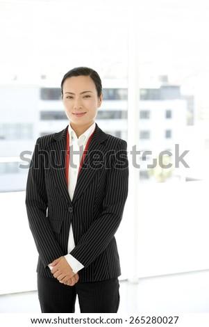 Portrait of an Asian Businesswoman - stock photo