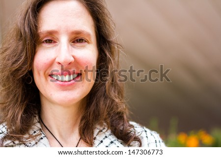 Portrait of professional business woman. - stock photo