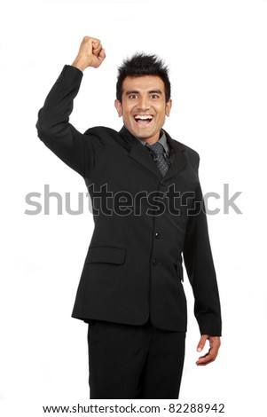 portrait of successful professional businessman - stock photo