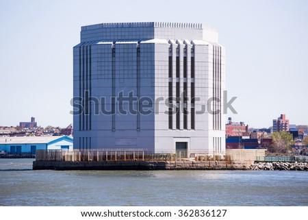 Portrait of the city of New York - stock photo
