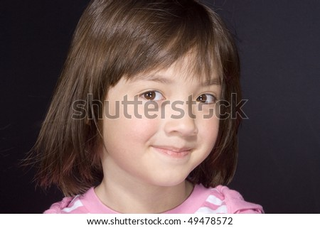 Portrait of young girl 6. - stock photo