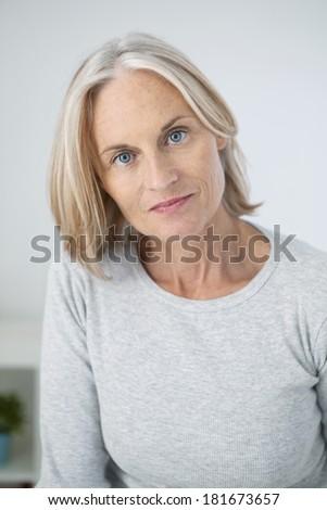 Portrait Woman - stock photo