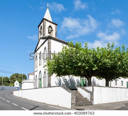 Portugal, Azores, Faial island - stock photo