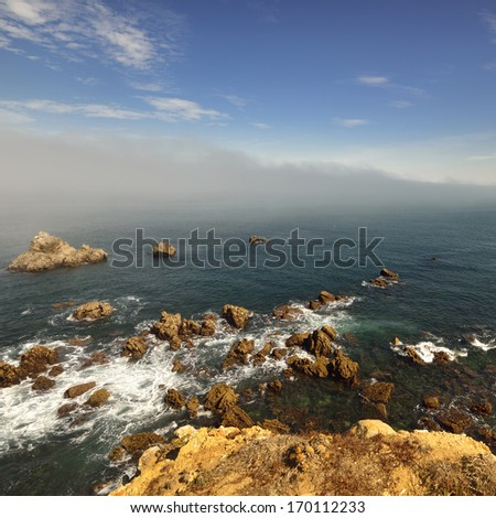 Portuguese Atlantic coast. Peniche - stock photo
