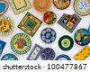 Portuguese ceramics - stock photo