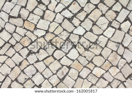 Portuguese limestone texture - stock photo
