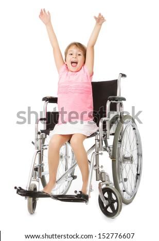 positive image about handicap - stock photo