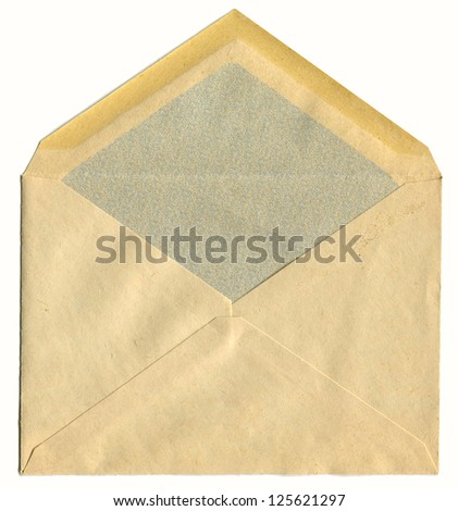 Post envelope, background. - stock photo