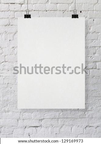 poster - stock photo