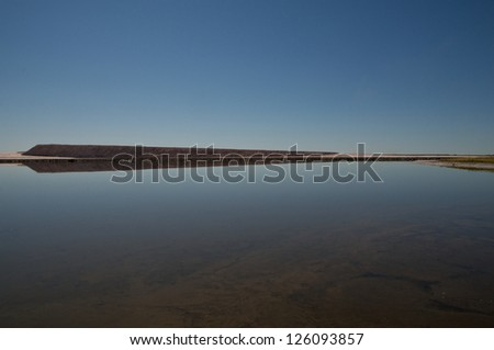 Potash Tailings - stock photo