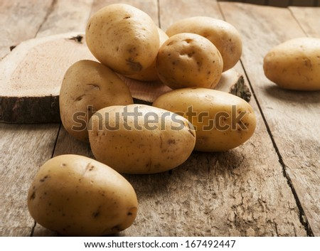 potatoes  - stock photo
