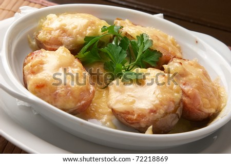 potatoes food - stock photo