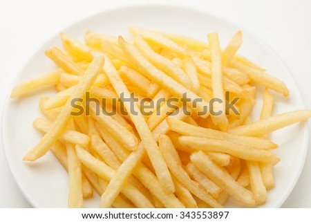 Potatoes fries - stock photo