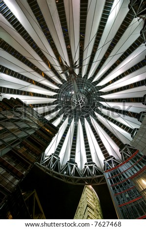 Potsdamer Platz at Night - stock photo