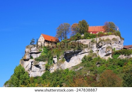 Pottenstein  - stock photo