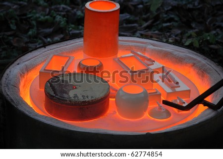 Pottery oven - stock photo