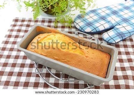 Pound cake - stock photo