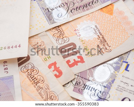 Pound currency background,  Currency of the United States - stock photo