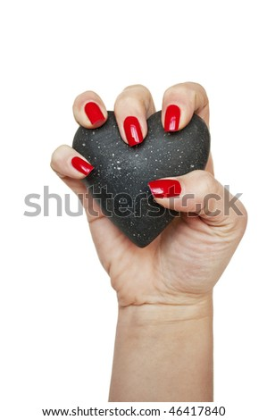 Power of love - stock photo