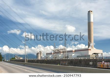 Power plant - stock photo