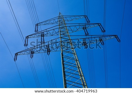 Power Pole - stock photo